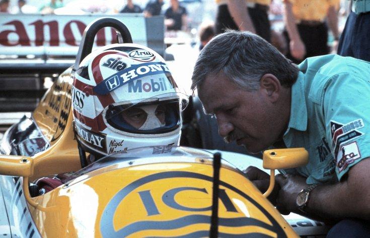 Formula-1 első magyar nagydíj, Nigel Mansell a Williams-Honda csapat versenyzője