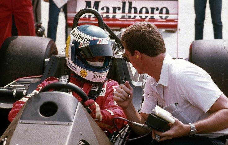 Formula-1 első magyar nagydíj, Keke Rosberg a McLaren-TAG csapat versenyzője