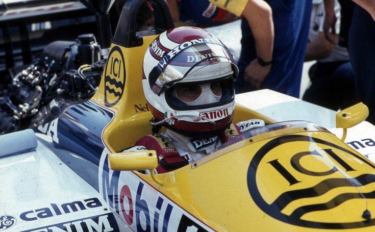 Formula-1 első magyar nagydíj, Nelson Piquet a Williams-Honda csapat versenyzője