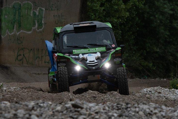 A Yamaha Garilla Racing Team az Italian Baján