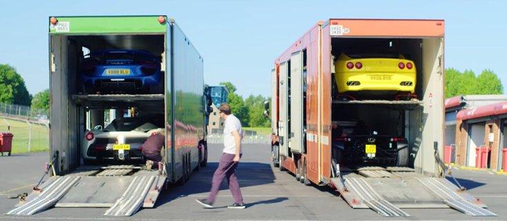Gordon Ramsay autói a kamionokon