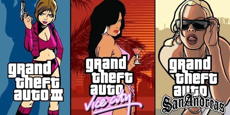 Karakterábrázolások a legismertebb GTA játékokból