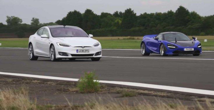 az elektromos autó jól gyorsul