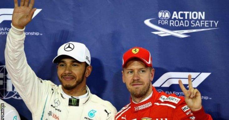 Hamilton és Vettel