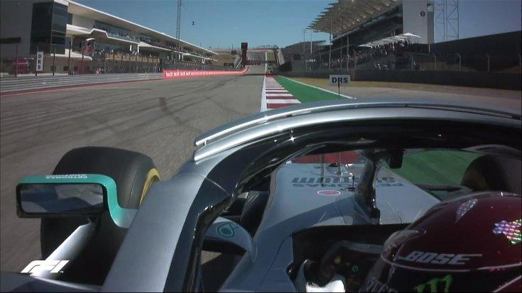 Lewis Hamilton belső kamerás felvétel