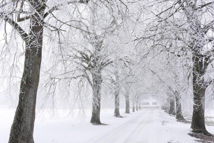 téli út