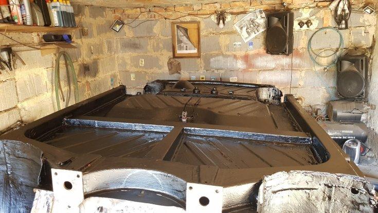 Felújított Trabant padlólemez