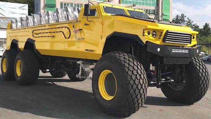 HJ ATV6 terepjáró oldalról
