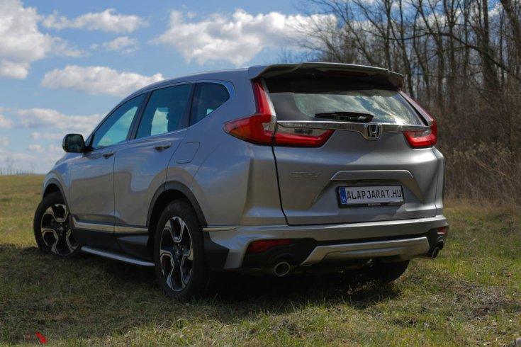 Honda CR-V teszt