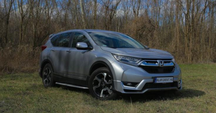 Honda CR-V SUV elölről