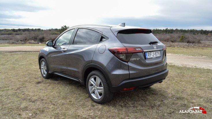 Honda HR-V Teszt Alapjárat