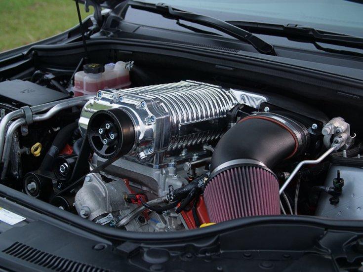 A HPE1200 Trackhawk motorfejlesztési csomag
