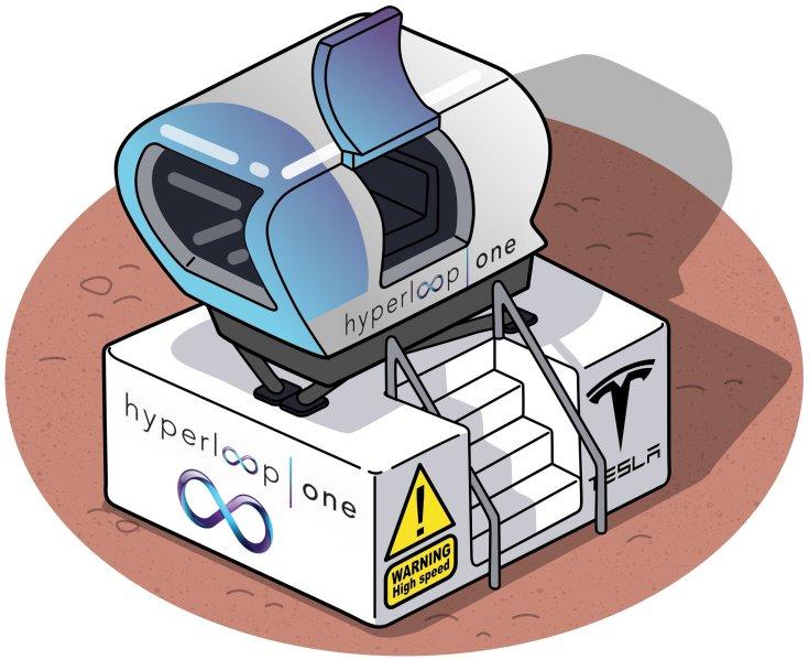 Tesla Hyperloop mozgásszimulátor