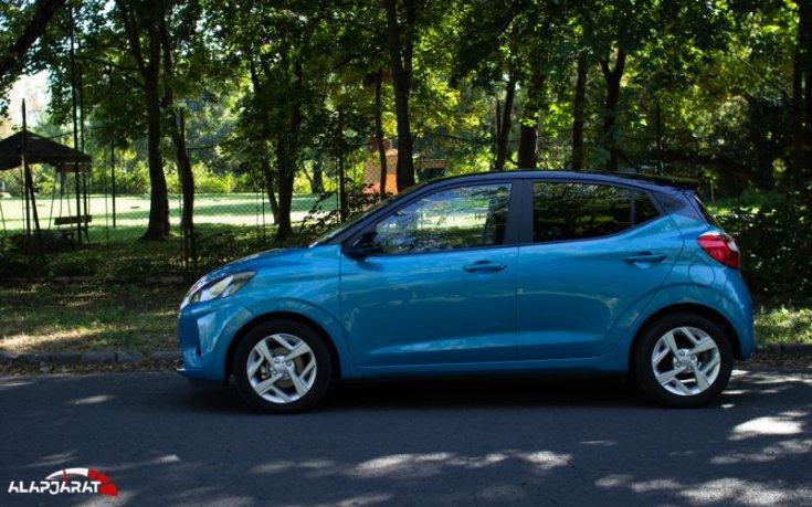 Hyundai i10 teszt alapjárat