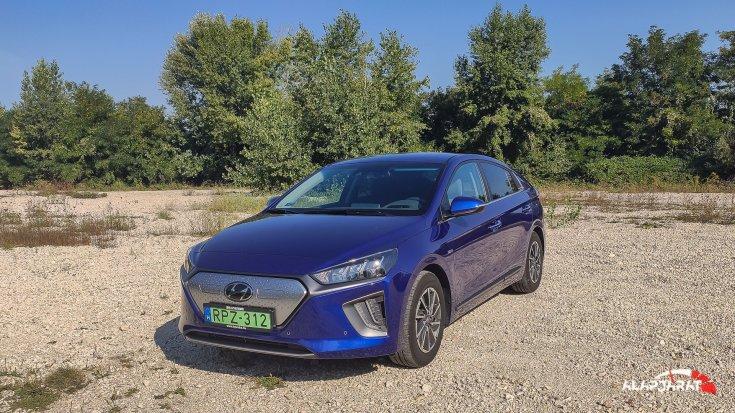 Hyundai Ioniq teszt alapjárat