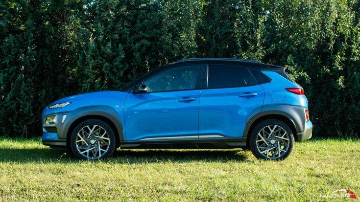 Hyundai Kona HEV teszt alapjárat