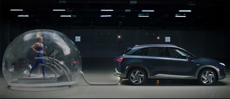 A Hyundai hidrogénes tesztje