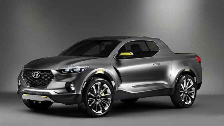 Hyundai Santa Cruz koncepció elölről
