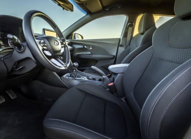 Hyundai Veloster N beltér