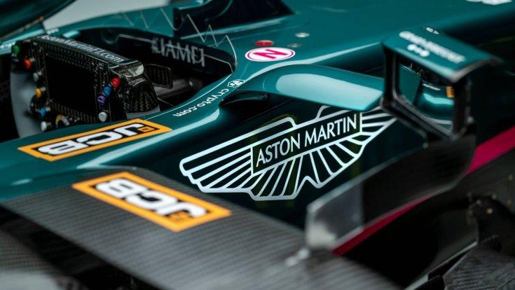 Az új Aston Martin bemutatója