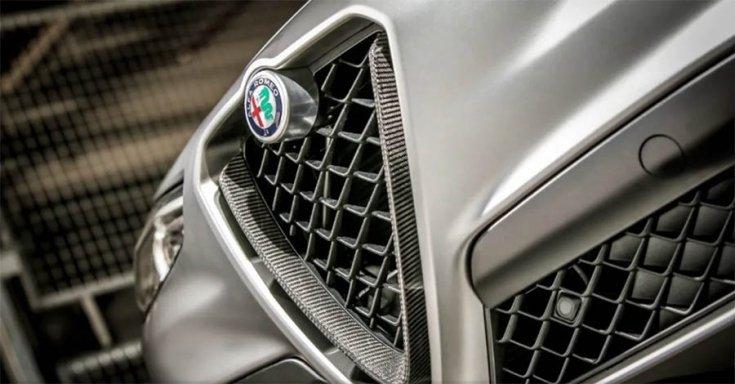 Alfa Romeo hűtőmaszk