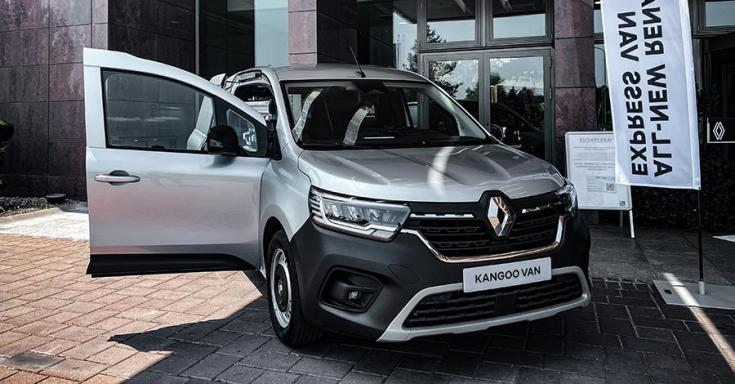 Renault Kangoo elölről
