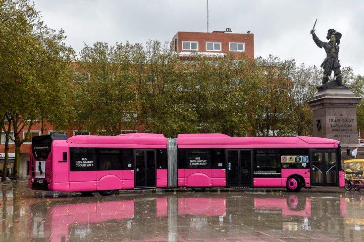 Ingyenes busz Dunkerque-ben