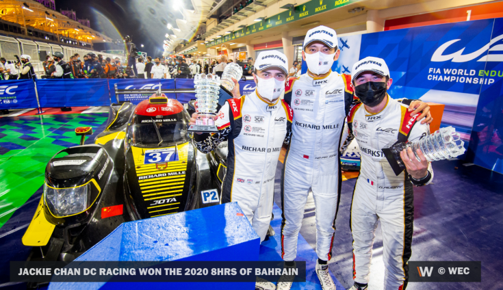 Jackie Chan csapata egy hosszútávú sorozatban szerzett győzelemmel Bahreinben