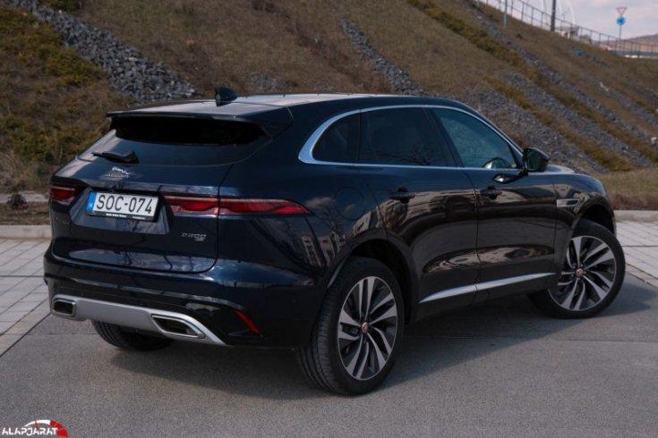 jaguar f-pace teszt alapjárat