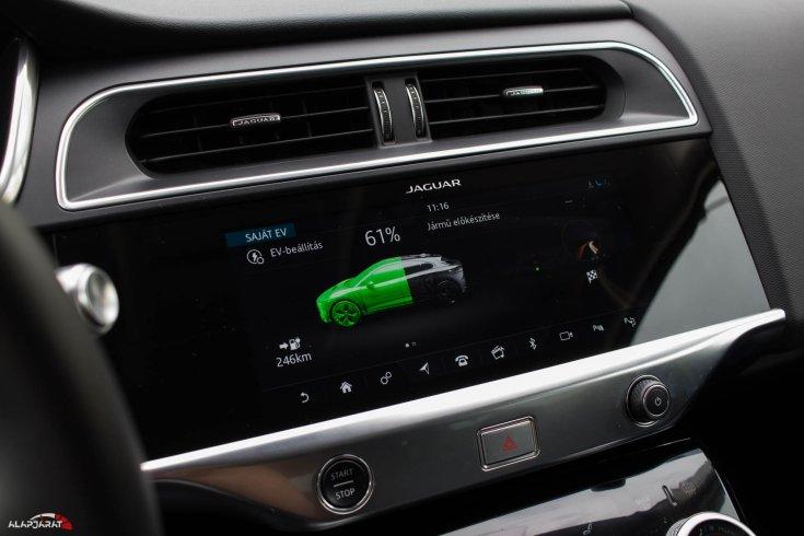 Jaguar I-Pace teszt Alapjárat