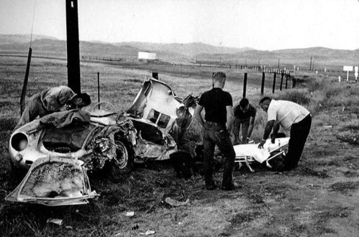 James Dean autóbaleset