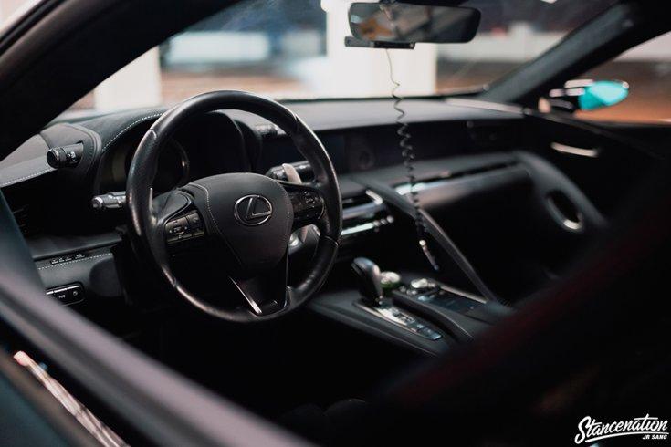 Jerald Yutadco Lexus LC 500 SEMA kiállítási darab beltér