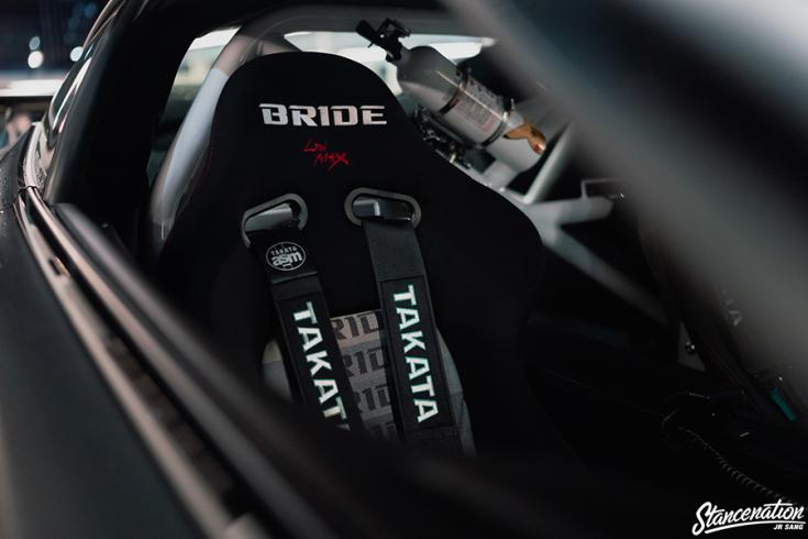 Jerald Yutadco Lexus LC 500 SEMA kiállítási darab Bride Low max ülései Takata övvel.