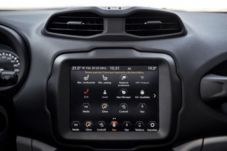 Jeep Renegade UConnect