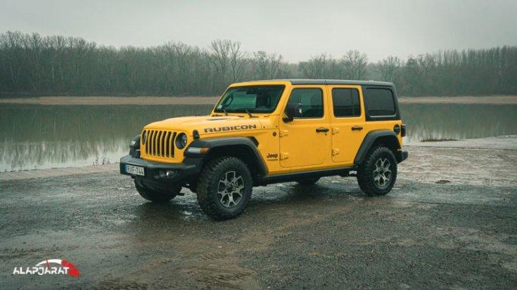 Jeep Wrangler teszt alapjárat