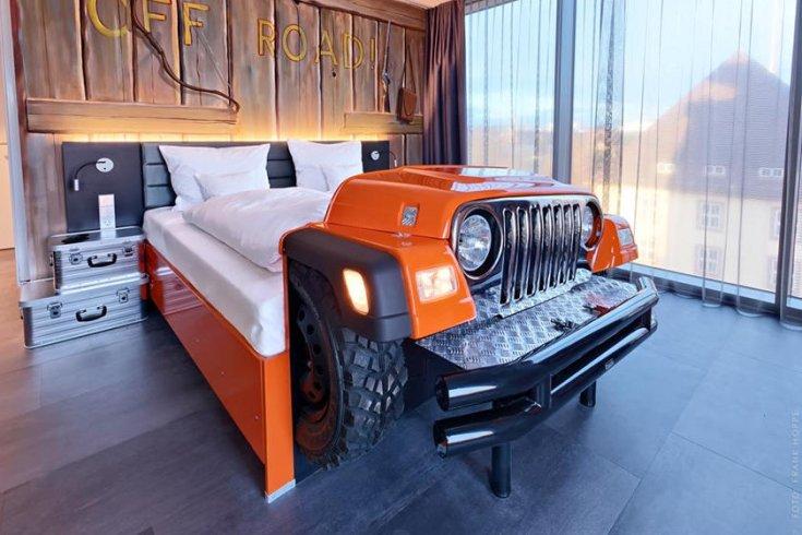 Jeep-stílusú fekhely
