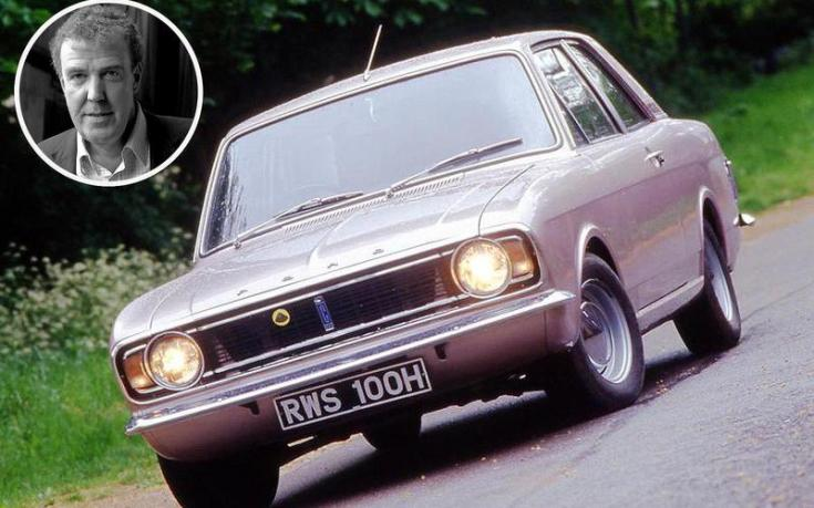 Jeremy Clarkson Ford Cortina