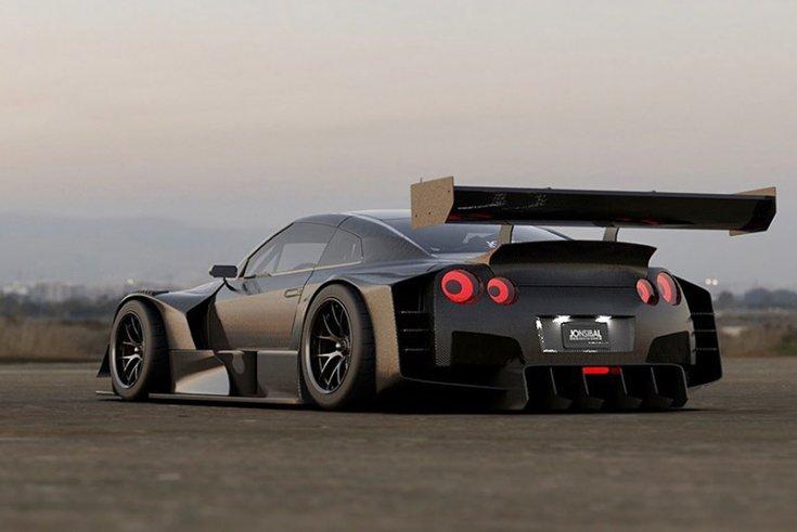 Jon Sibal munkája, Nissan R35 GT-R-en