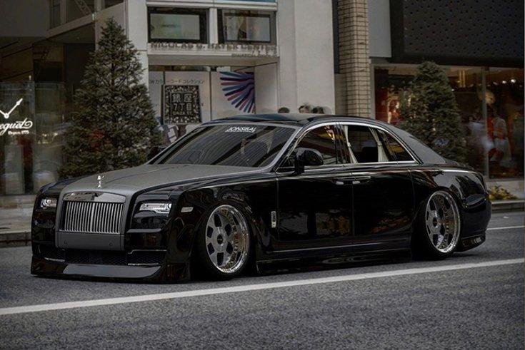 Jon Sibal munkája, Rolls-Royce Phantomon