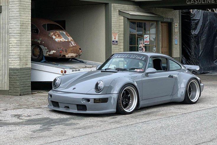 Jon Sibal automotív designer és illusztrátor munkája, Porsche 911-en