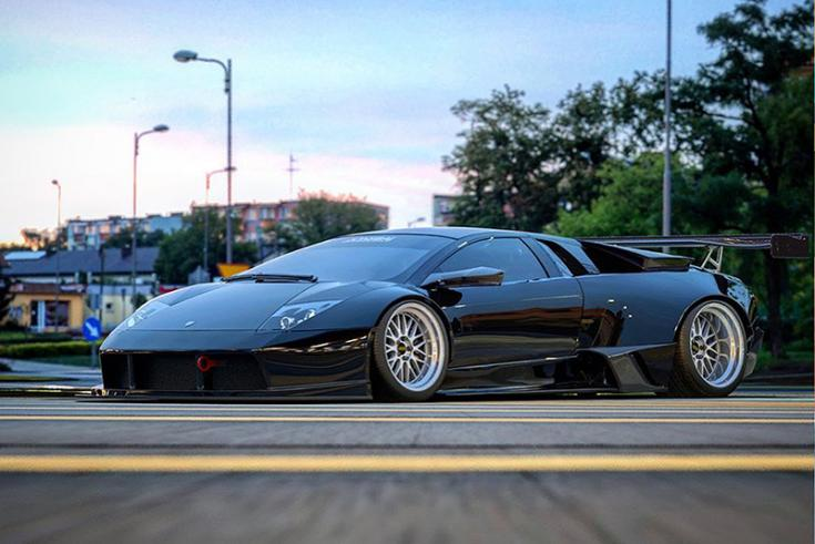 Jon Sibal munkája, Lamborghini Aventadoron