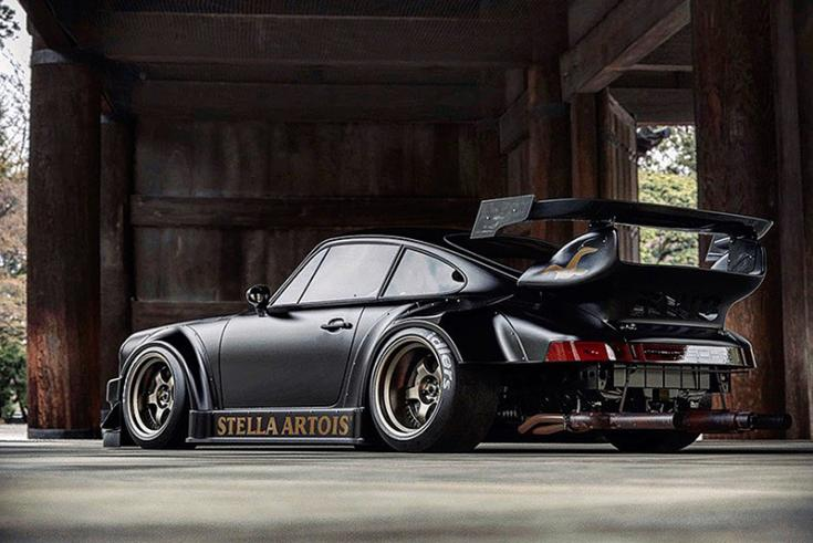 Jon Sibal munkája, Porsche Boxster S-en