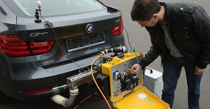 Emisszió (károsanyag-kibocsátás) mérés
