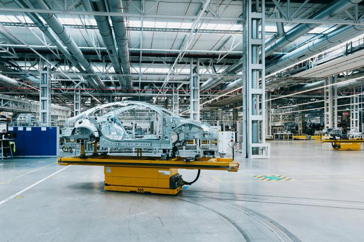 Kecskeméti Mercedes-gyár belülről