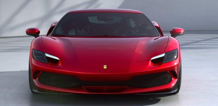 Ferrari 296 GTB szemből