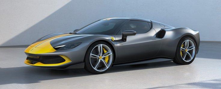 Ferrari 296 GTB oldalról