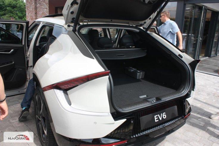 Kia EV6 csomagtér