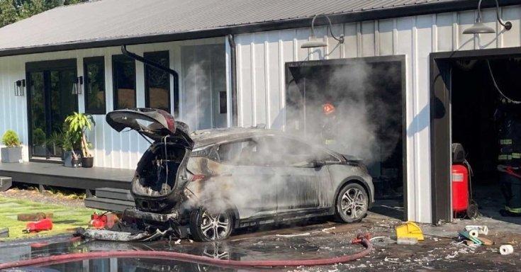 Kiégett Chevrolet Bolt