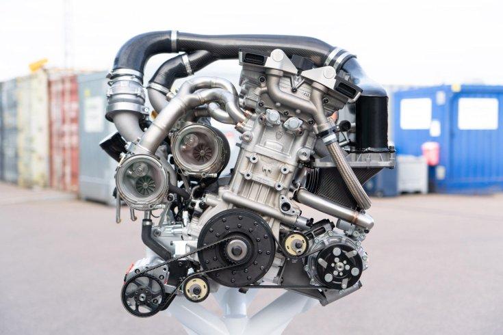 Koenigsegg Gemera Freevalve motor