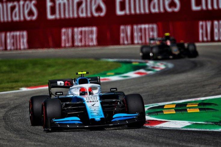 Kubica a Williams színeiben